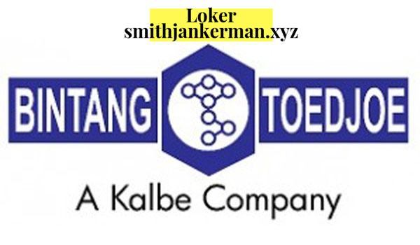 Loker Terbaru PT Bintang Toedjoe (Kalbe Group) 2019