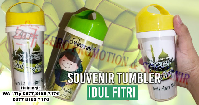 Souvenir Tumbler Idul Fitri - Tumbler Edisi Ramadhan