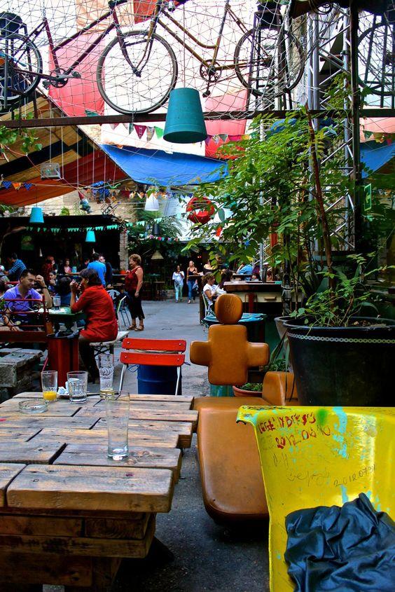 Ruin Bars, Budapest, Travel, Wanderlust