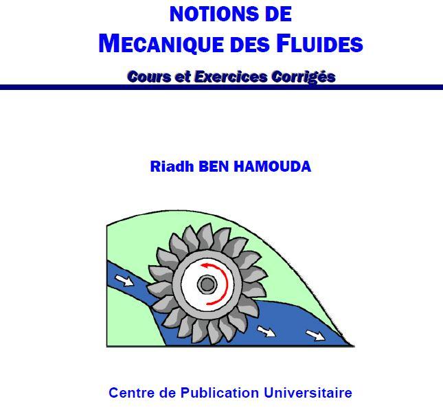 télécharger mécanique des fluides exercices corrigées en pdf  gaz et turbine