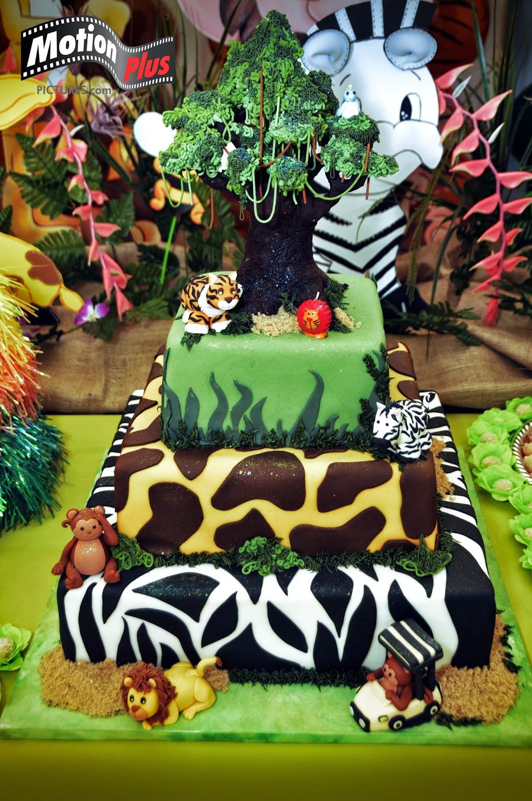 Motion Plus Pictures Safari Themed Birthday Party Diy Ideas