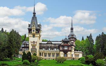 Wallpaper: Peles Castle in Romania