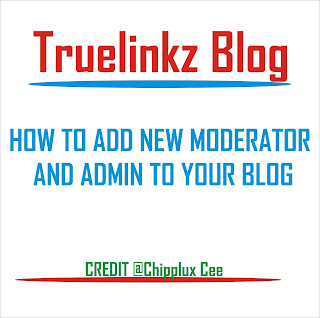 How to Add New Admin or Moderator