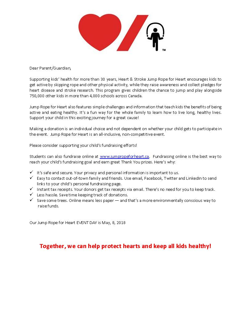 Heart and stroke jump rope for heart 2018 prizes