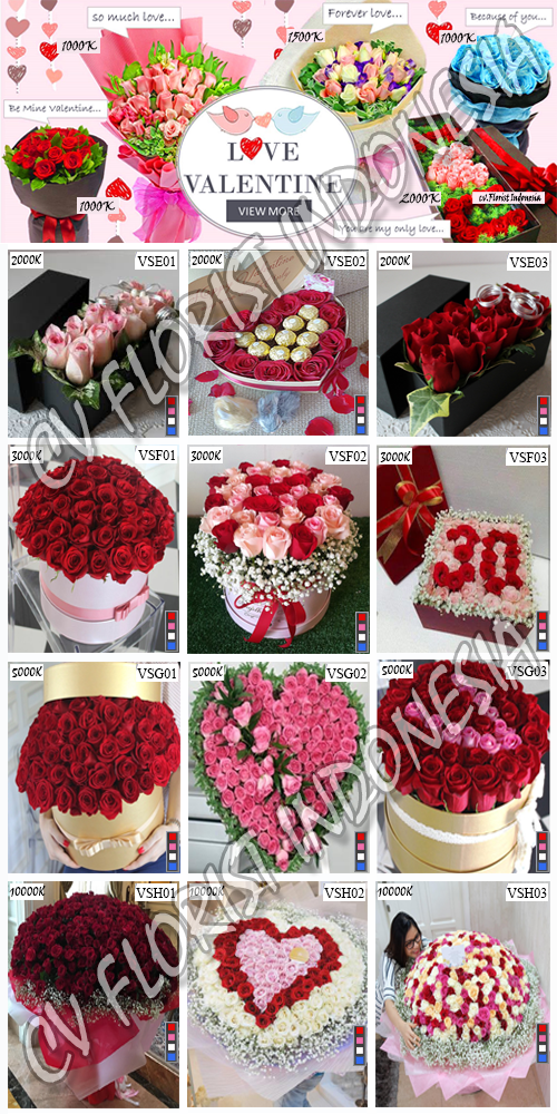 Hand Bouquet Mawar Valentine Di Jakarta Timur