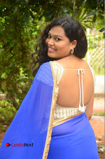 Maggi Meghna Pictures in Saree at Lovers Park Movie Opening ~ Bollywood and South Indian Cinema Actress Exclusive Picture Galleries