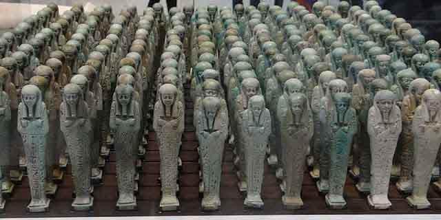 Egyptian ushabti servants