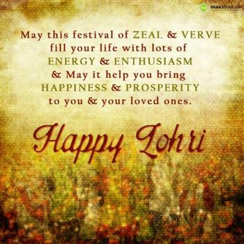 Happy Lohri 2017 Msgs in Pictures