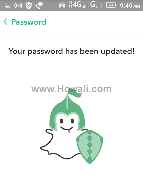 Reset Snapchat Password on iPhone