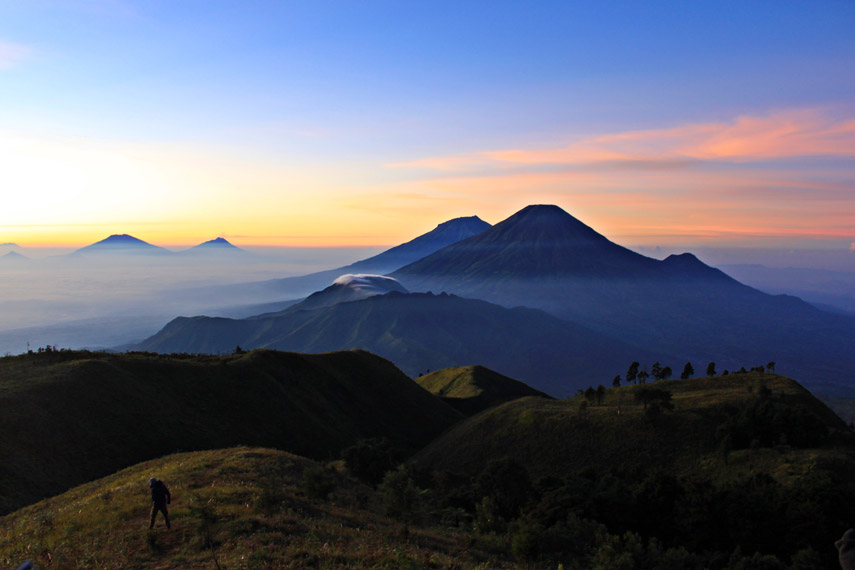 Wisata Pendakian Gunung Prau di Wonosobo Jawa Tengah