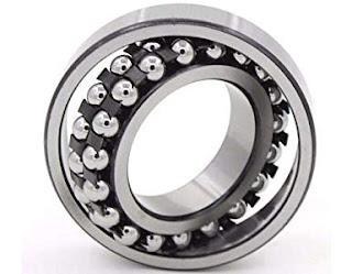 Bearing, https://techproces.com/, Self-aligning ball bearings: