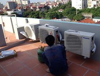 Sửa chữa nạp gas điều hòa Panasonic tại Hà Nội