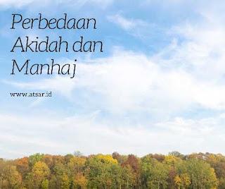 Perbedaan Akidah dan Manhaj