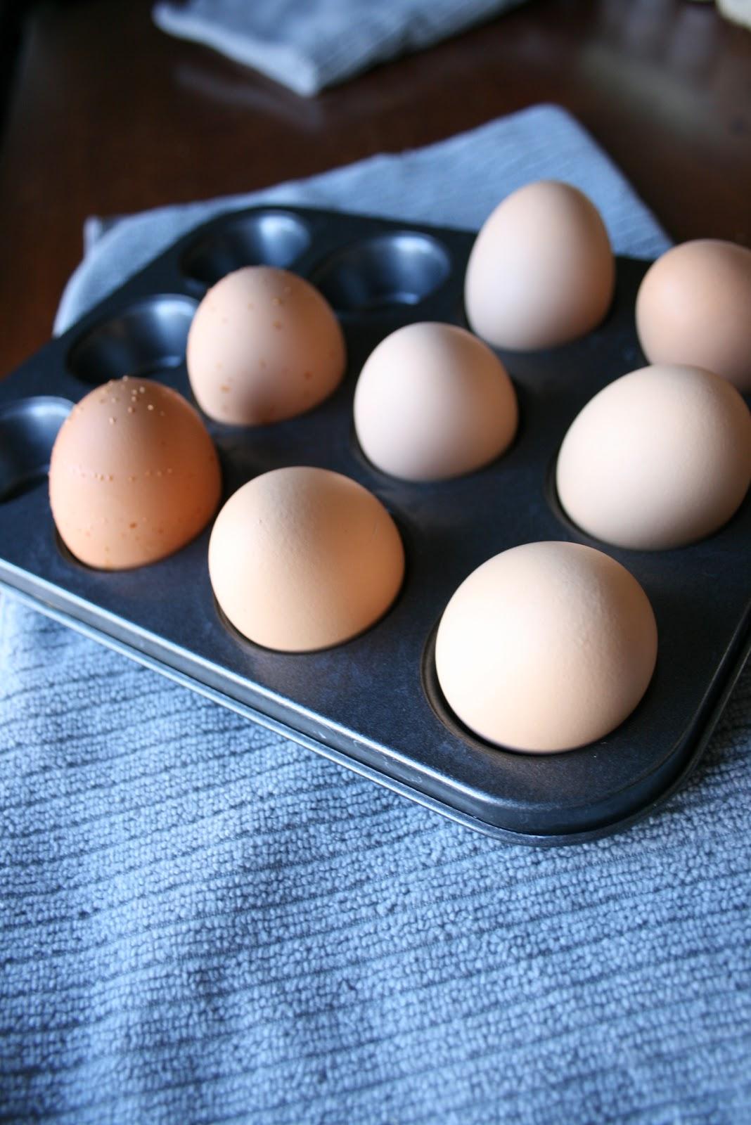 moldes para cupcakes - huevos duros