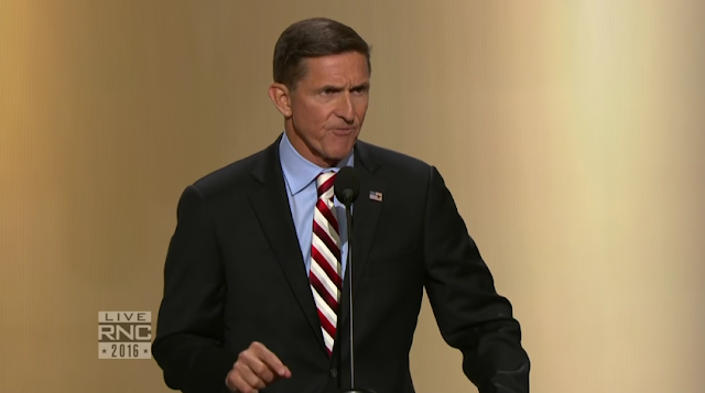 Michael Flynn Lt. General Republican National Convention RNC 2016 scary speech sergeant