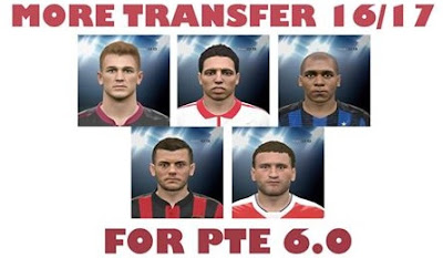 PES 2016 UPDATE TRANSFER UNTIL 2 SEPTEMBER 2016 FOR PTE 6.0 BY Alvin Andrean