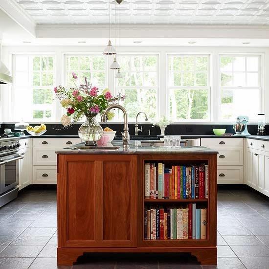 Kitchen Garden Bangalore: Home Interior Design: Kitchen Island Storage Ideas
