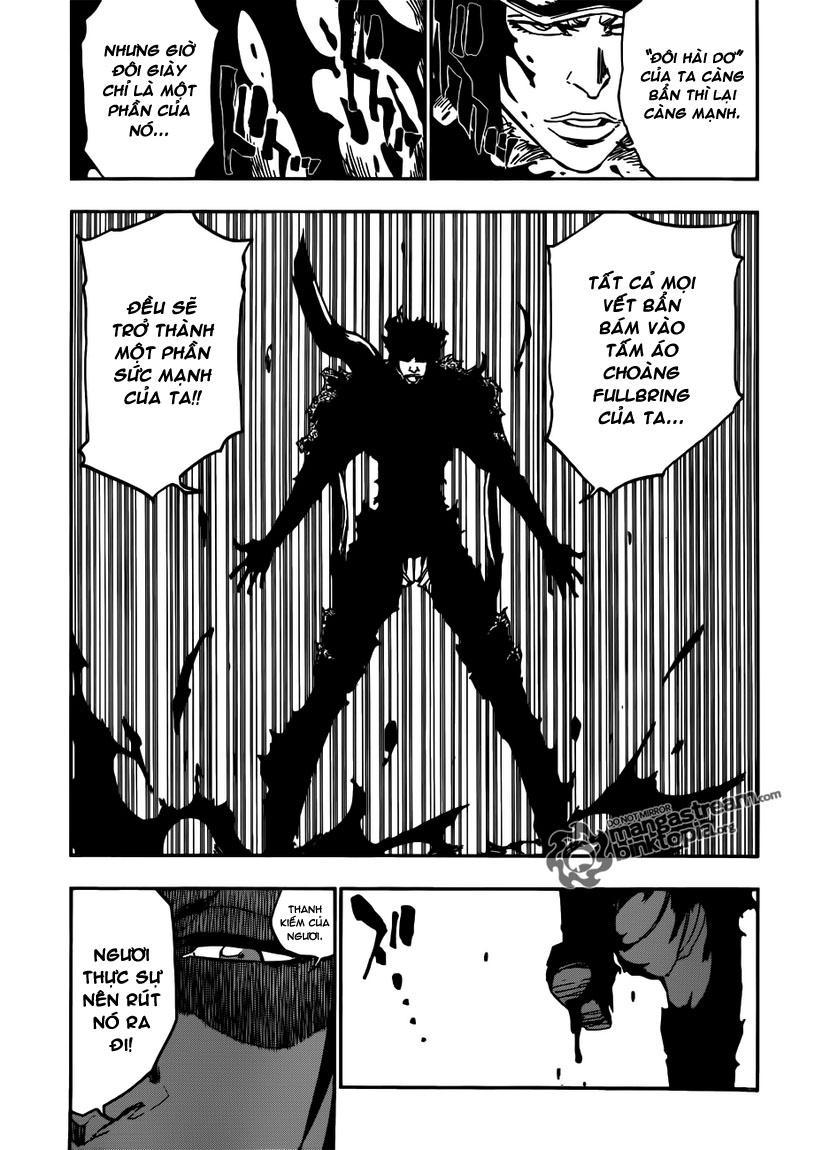 Bleach chapter 465 trang 12