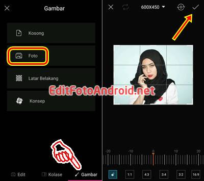 Cara Edit Background Foto di PicsArt 1