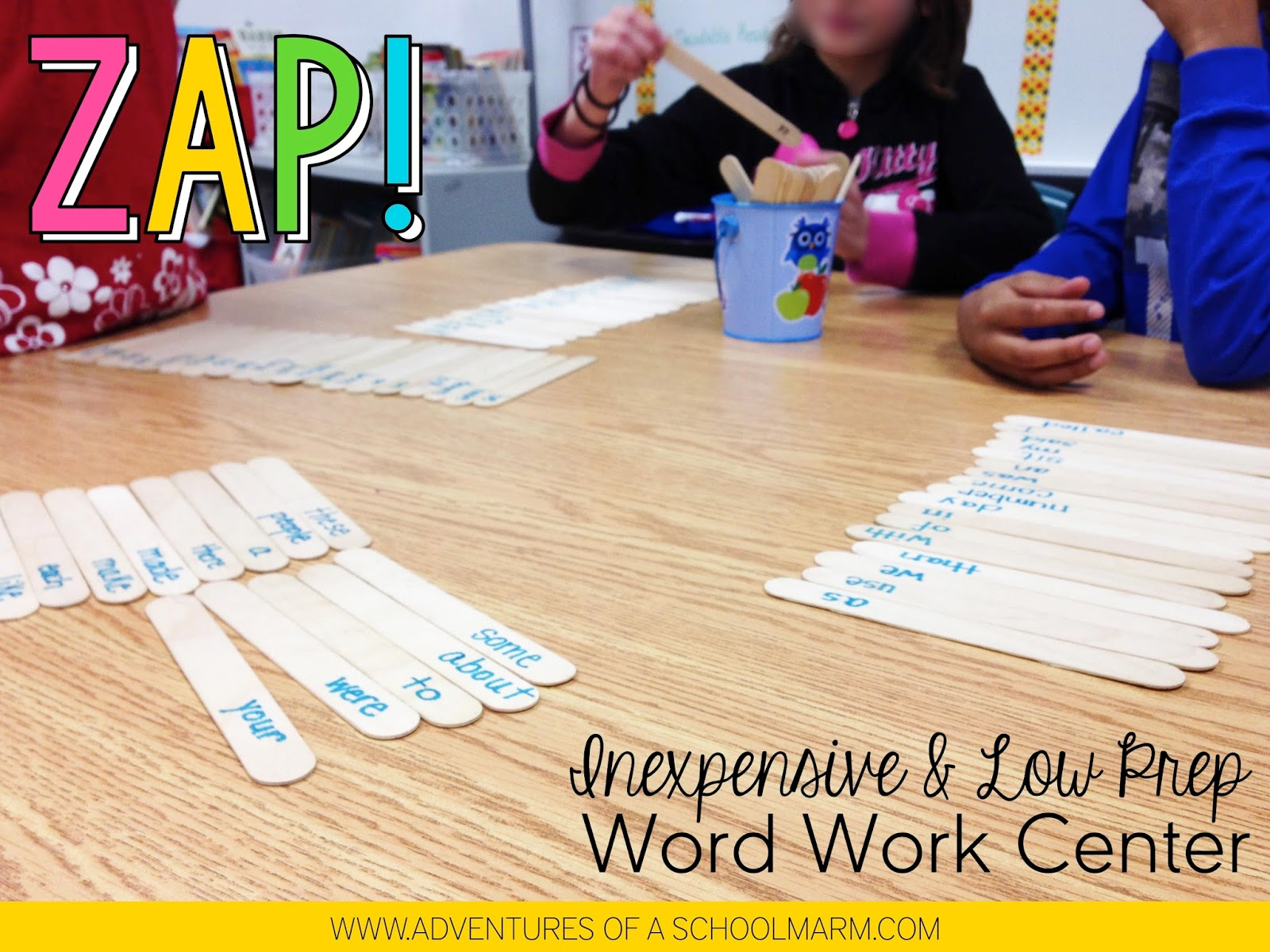 Stop feeling stressed out about centers and give this simple game a try! Your kids will love how fun it is and you will love how much time it saves you.
