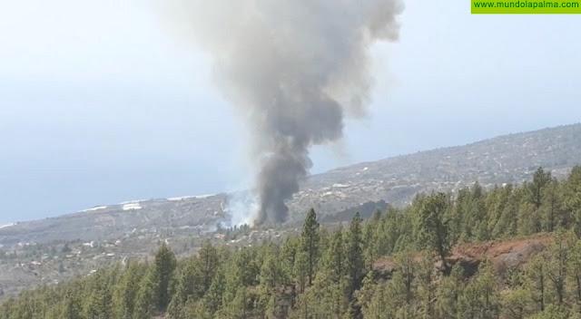 Se declara un conato de incendio en Tijarafe