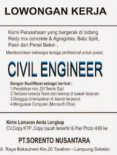 Lowongan Kerja PT. Soeranto Nusantara