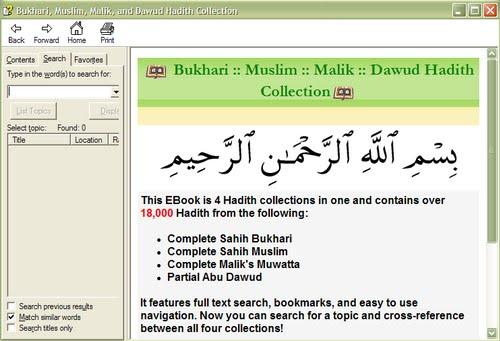 Abu malik. ImaanStar: Bukhari, Muslim, Malik, and Dawud