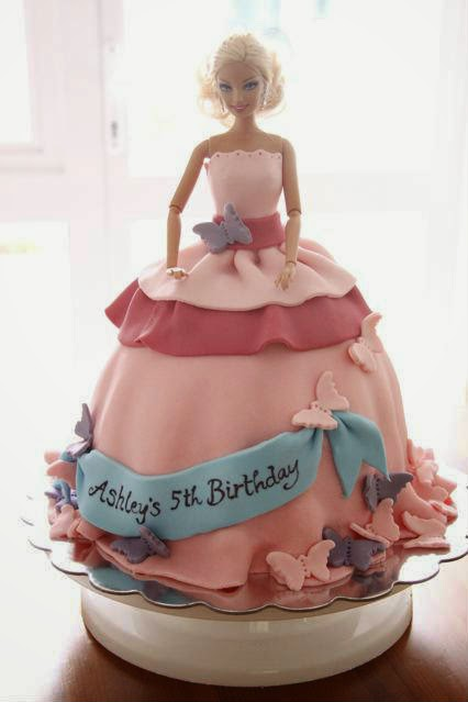 6 Cute Barbie Girl Birthday Cake Designs Creative Things Blog