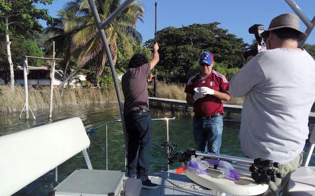 Investigadores de Texas estudian topografía de cenotes en Quintana Roo