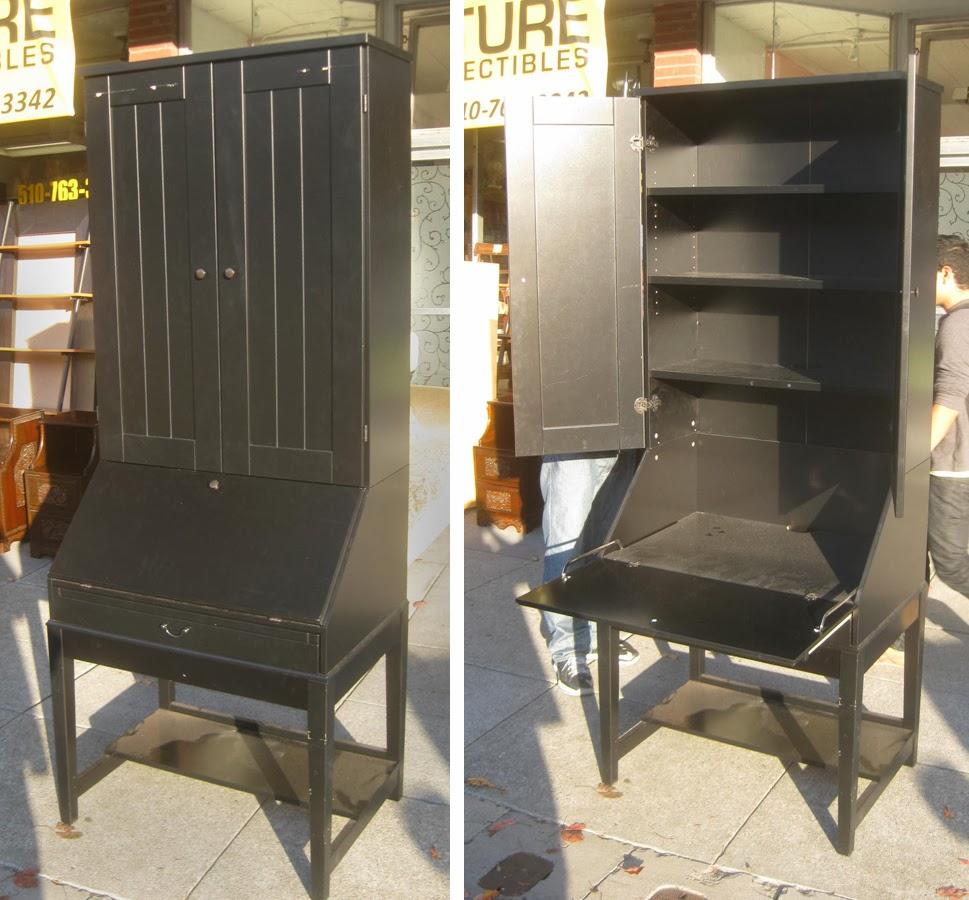 UHURU FURNITURE & COLLECTIBLES: SOLD - Ikea Secretary Desk ...