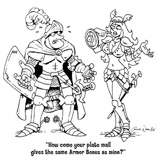 A Paladin In Citadel: Dungeon Crawl Classics: Cartoons