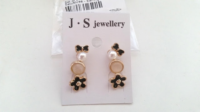 Ticoo Set of 3 Earrings