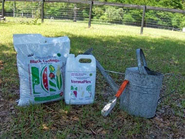 Certified worm castings and liquid fertilizer
