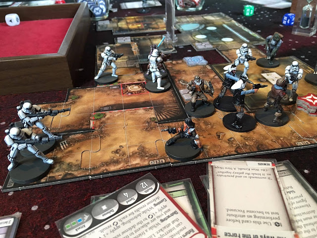 Imperial Assault from FFG Fly Solo mission