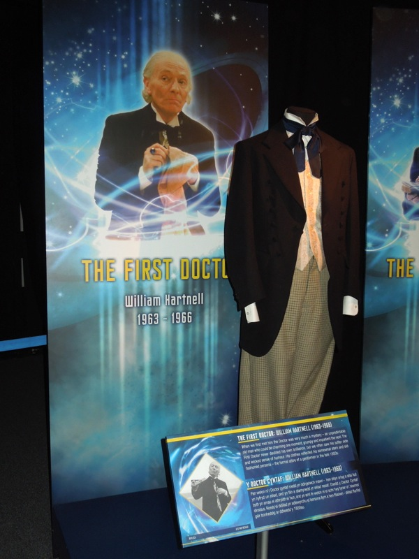 William Hartnell First Doctor Who costume