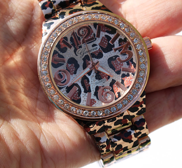 leopard watch