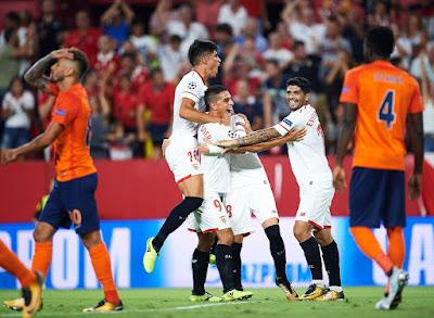 Crónica Sevilla FC 2 - İstanbul Başakşehir 2