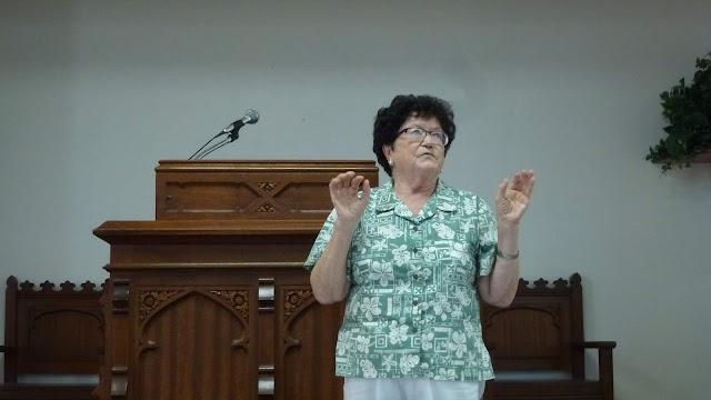 Nemeth Marika, our faithful church member passed away