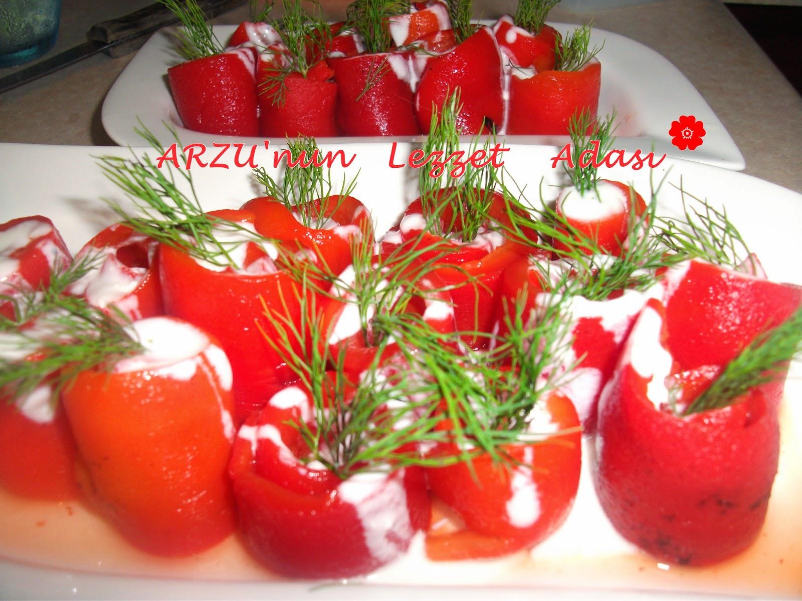 Kırmızı Biber Sarması