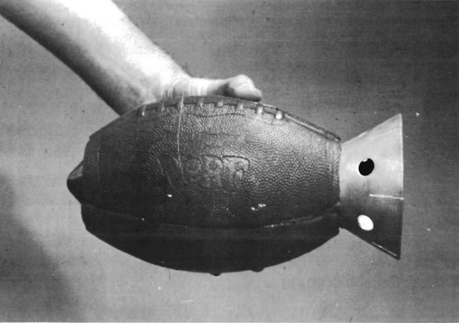 The US Army worked to develop grenades the same size and weight as baseballs in order to take advantage of American's familiarity with the sport.