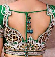high back neck blouse patter