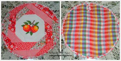 текстильная подставка