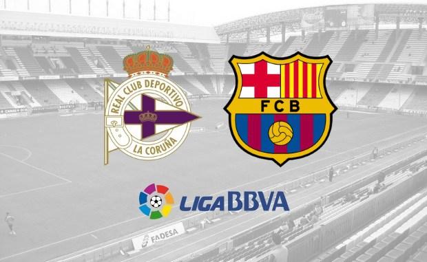 Deportivo La Coruna vs Barcelona Full Match And Highlights
