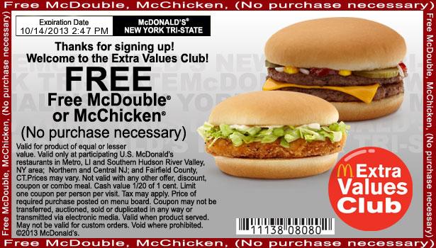 mc mcdonalds coupons