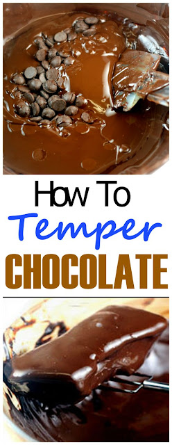 How to Temper Dark, Milk and White Chocolate - Seeding Method