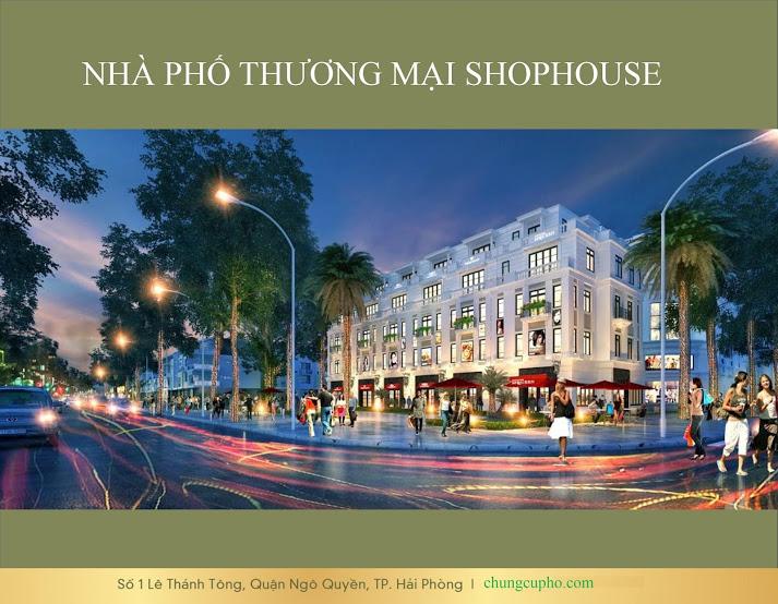 Toi can ban nha pho Vincom Le Thanh Tong Hai Phong vi tri dep tu chu dau tu