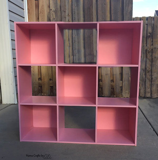 update a thrift store storage cube