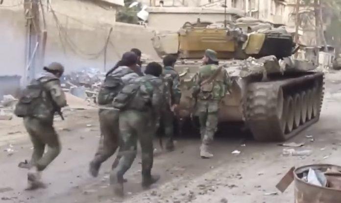 Συρία: Mάχες σώμα με σώμα  με τους ισλαμιστές αντάρτες αριστερούς  (Βίντεο)