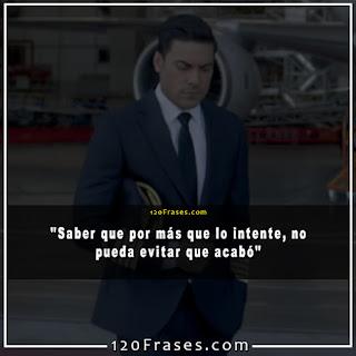 Carlos Rivera de piloto