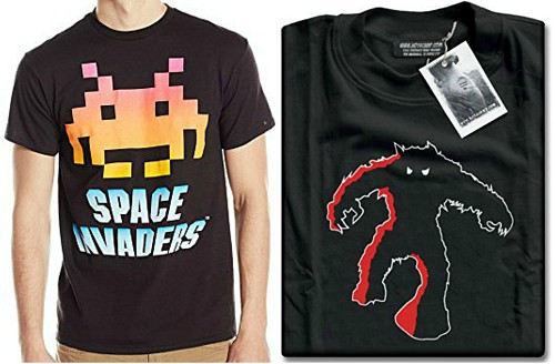 SPace Invaders T-shirts for Men